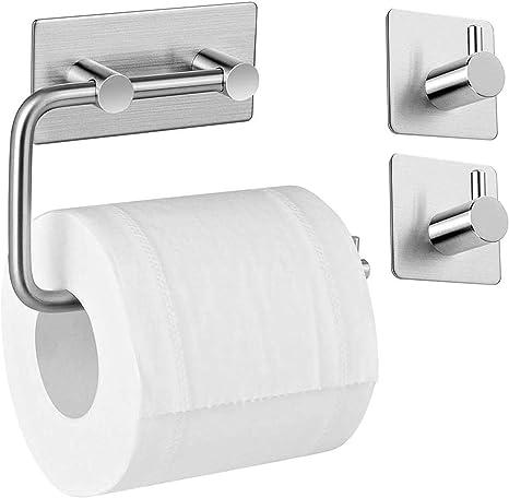 Toilettenpapierhalter Klopapierhalter Klorollenhalter WC Edelstahl Rollenhalter
