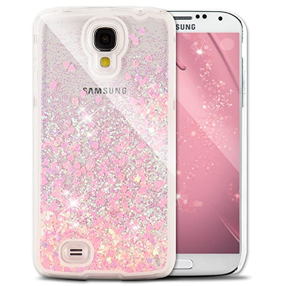 promo code b2641 e4ba0 Galaxy S4 Case Samsung Galaxy S4 Case for Girls EMAXELER 3D Creative Design  Angel Girl Flowing Liquid Floating Bling Shiny Liquid PC Hard Case for ...