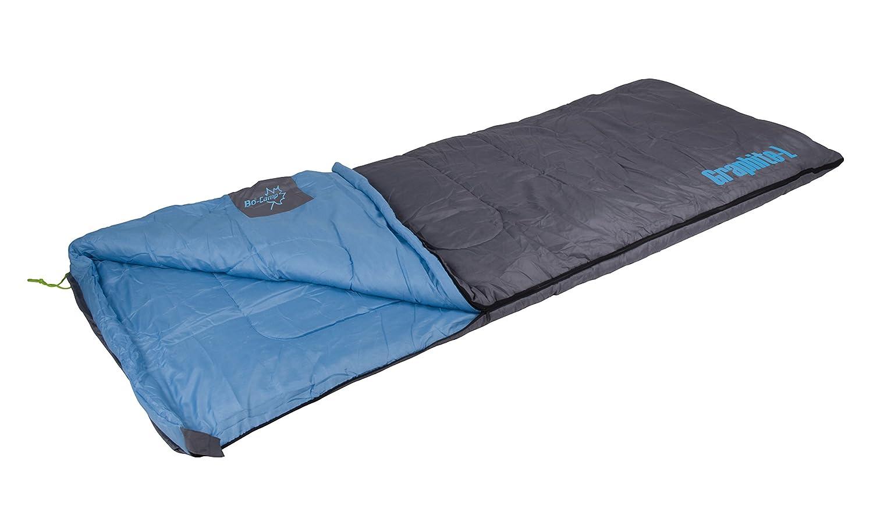 Bo Camp Graphite L - Saco de dormir formato sábana, 200 x 80 cm: Amazon.es: Coche y moto