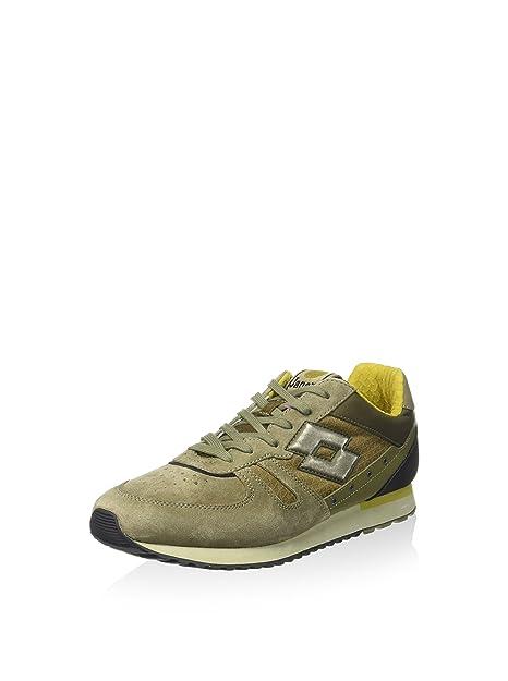 Lotto Leggenda Sneaker Tokyo Shibuya Verde Marrone EU 40  MainApps   Amazon.it  Scarpe e borse c88577038fd