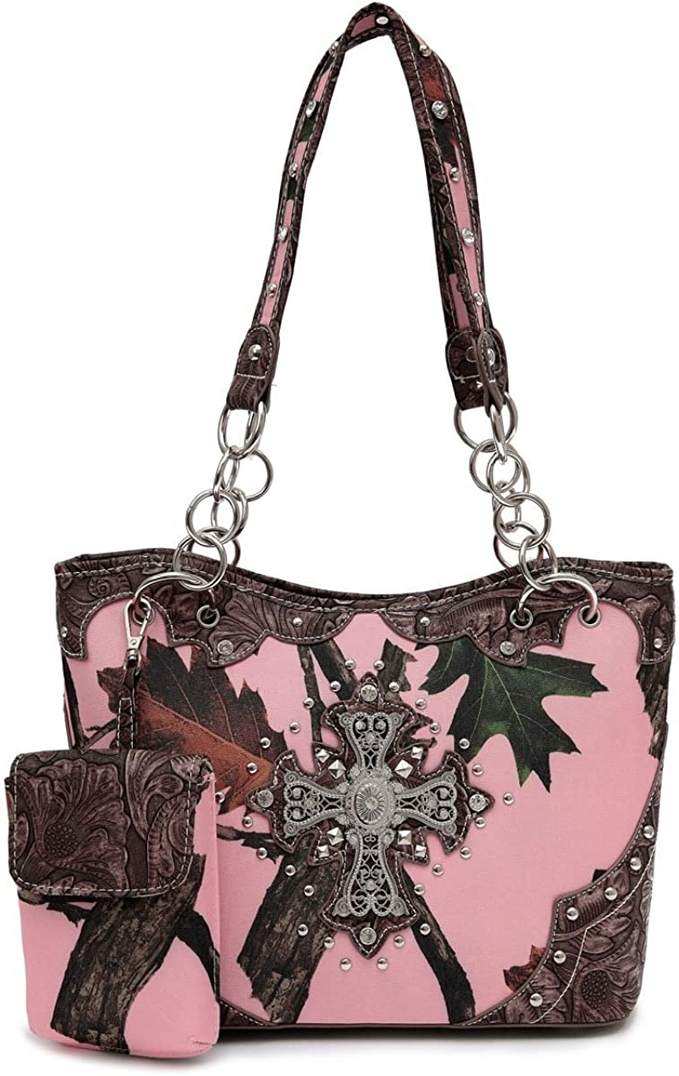 Pink Forest Camo Western...