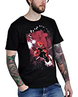 T-shirt Deadpool Shot Gun avec le héros de Marvel Comic coton noir