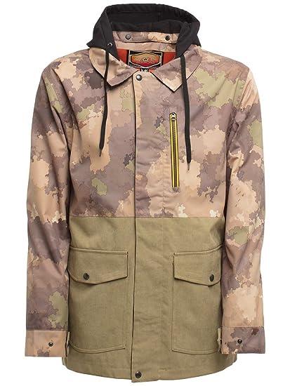 cba594ba019a9 Amazon.com : Sessions Lithium Jacket 2018 Camo Fatigue M : Sports & Outdoors