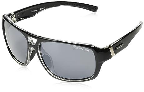 Alpina Sport Style Yuko Sonnenbrille, Black-Transparent