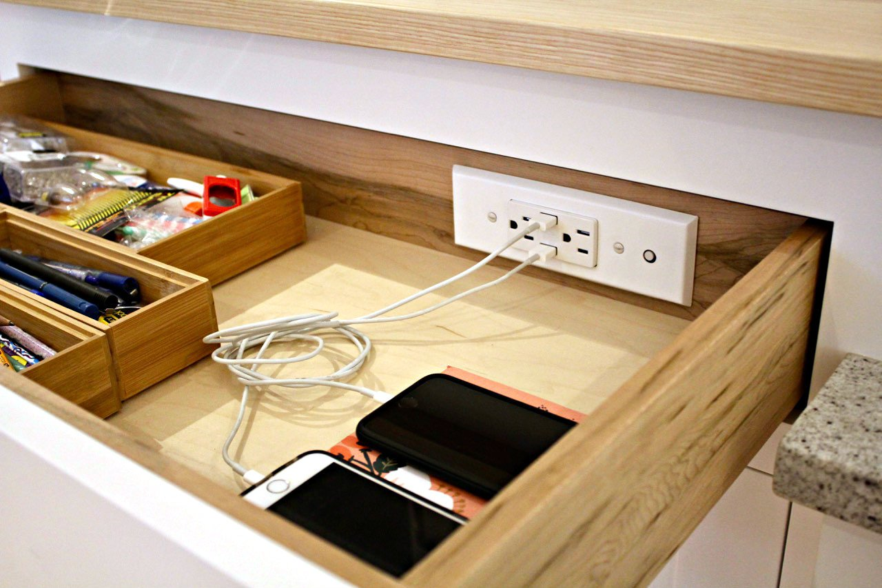 Docking Drawer 21 Slim In-Drawer Charging Outlet featuring 2AC and 2 USB ports, Listed to UL 962a, Easy to Install by Docking Drawer (Image #5)