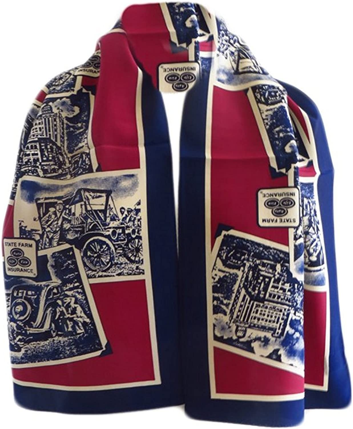State Farm Womens Insurance Scarf - Blue - One Size