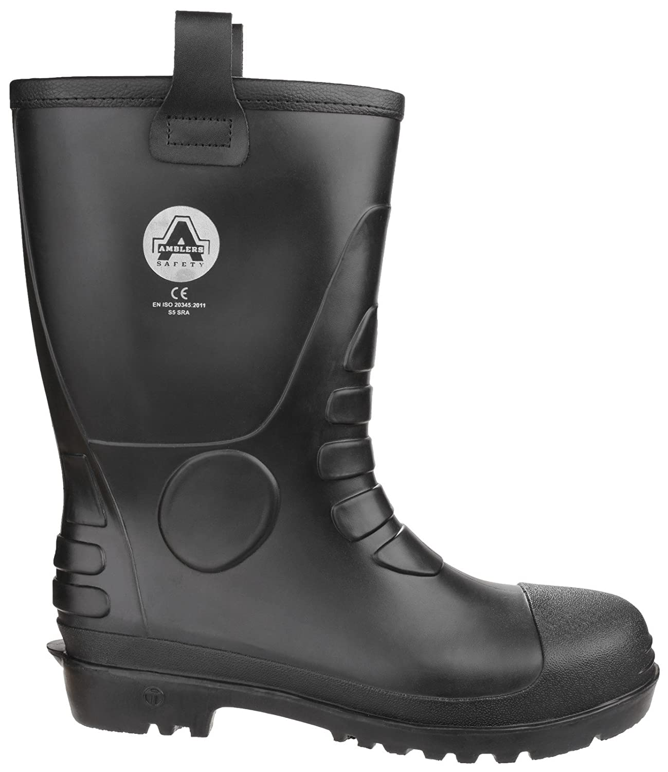 01aa10e41a6 Amblers FS90 Waterproof PVC Pull on Safety Rigger Boot - 24926