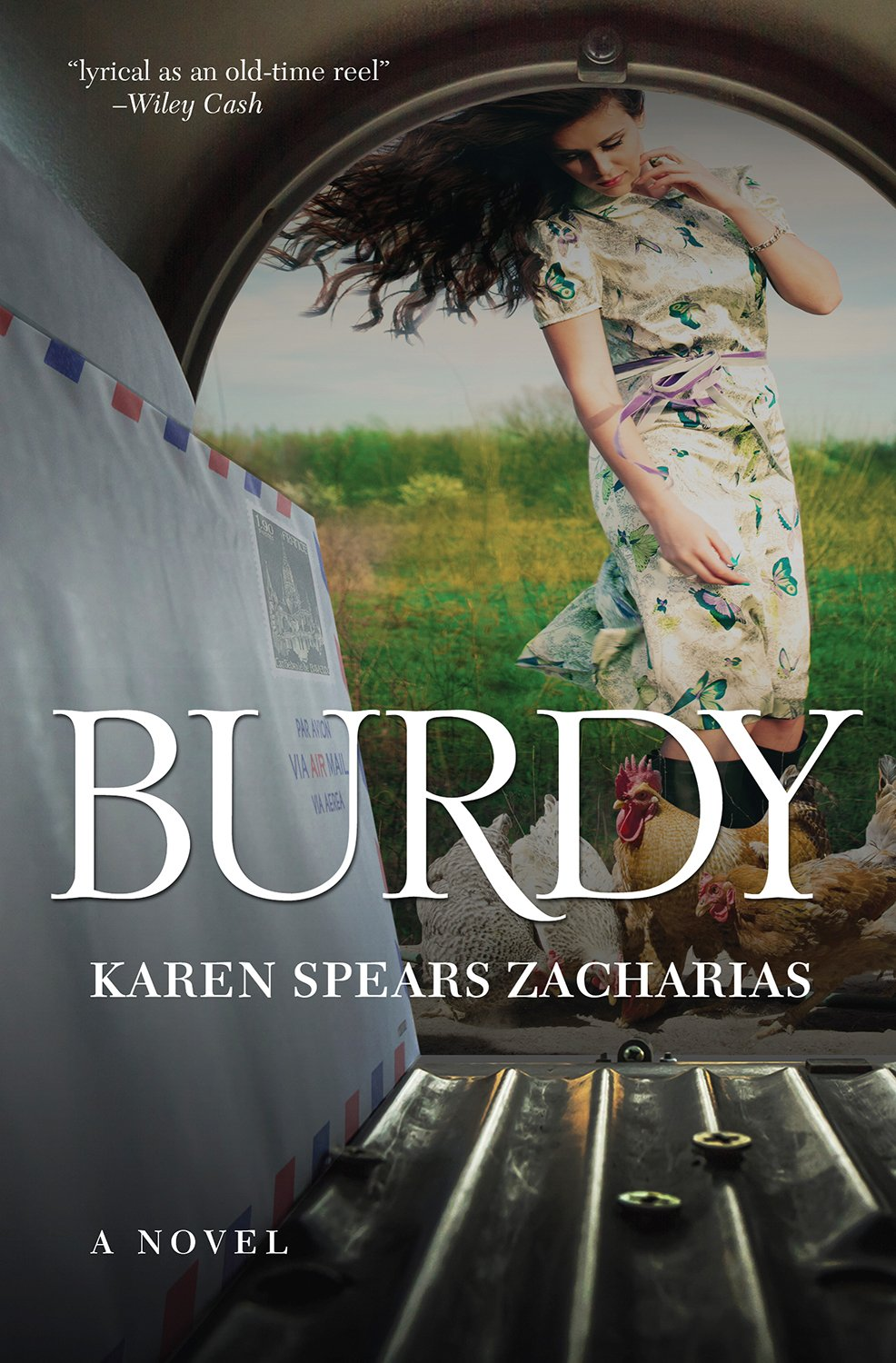 Burdy book cover