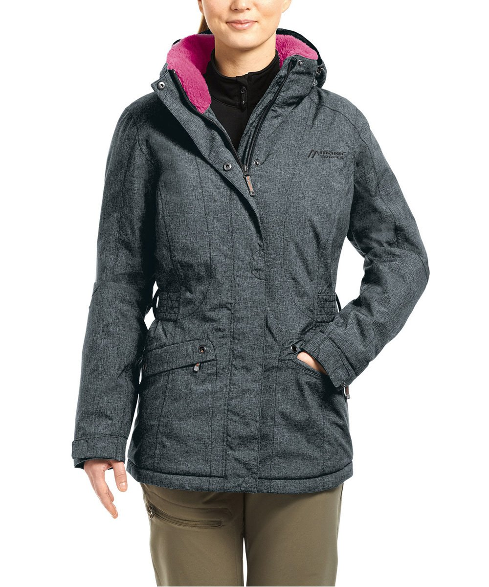 Graphit Melange 46 maier sports Ineska Light Jacket Women grey 2017 winter jacket