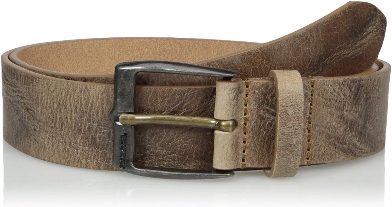 Diesel Mens Whyz Leather Belt