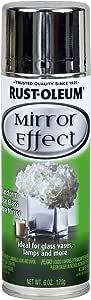 Rust-Oleum 267727 Specialty Mirror Spray, 6-Ounce, Silver