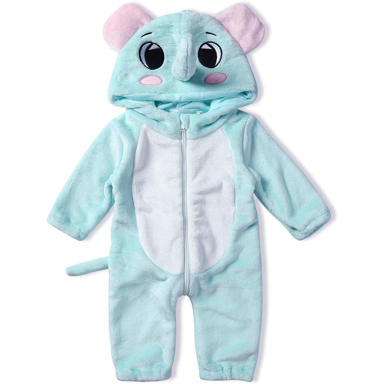 10+ modelos 1778 0-6 Meses color koala marr/ón Katara Pijama Beb/é Invierno Disfraz Animal