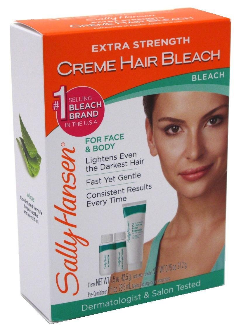 Sally Hansen Creme Bleach Xtra Strength Face & Body (2 Pack)