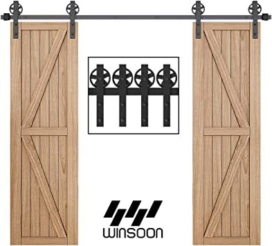 Home Solid Wood Cupboard Sliding Door Guide Door Pulley Supporting Matching Hardware Tools Color: Small