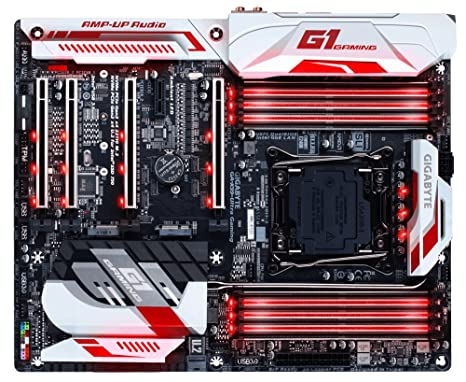 Gigabyte GA-X99-Ultra Gaming (Rev. 1.0) LGA 2011-v3 Intel® X99 ATX - Placa Base (DDR4-SDRAM, DIMM, 2133,2400,2666,2800,3000,3200,3333,3400,3600 MHz, ...