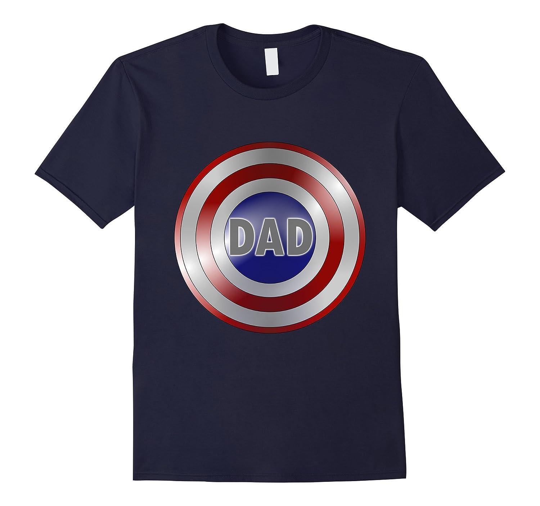 Captain Dad Superhero Shirt-T-Shirt