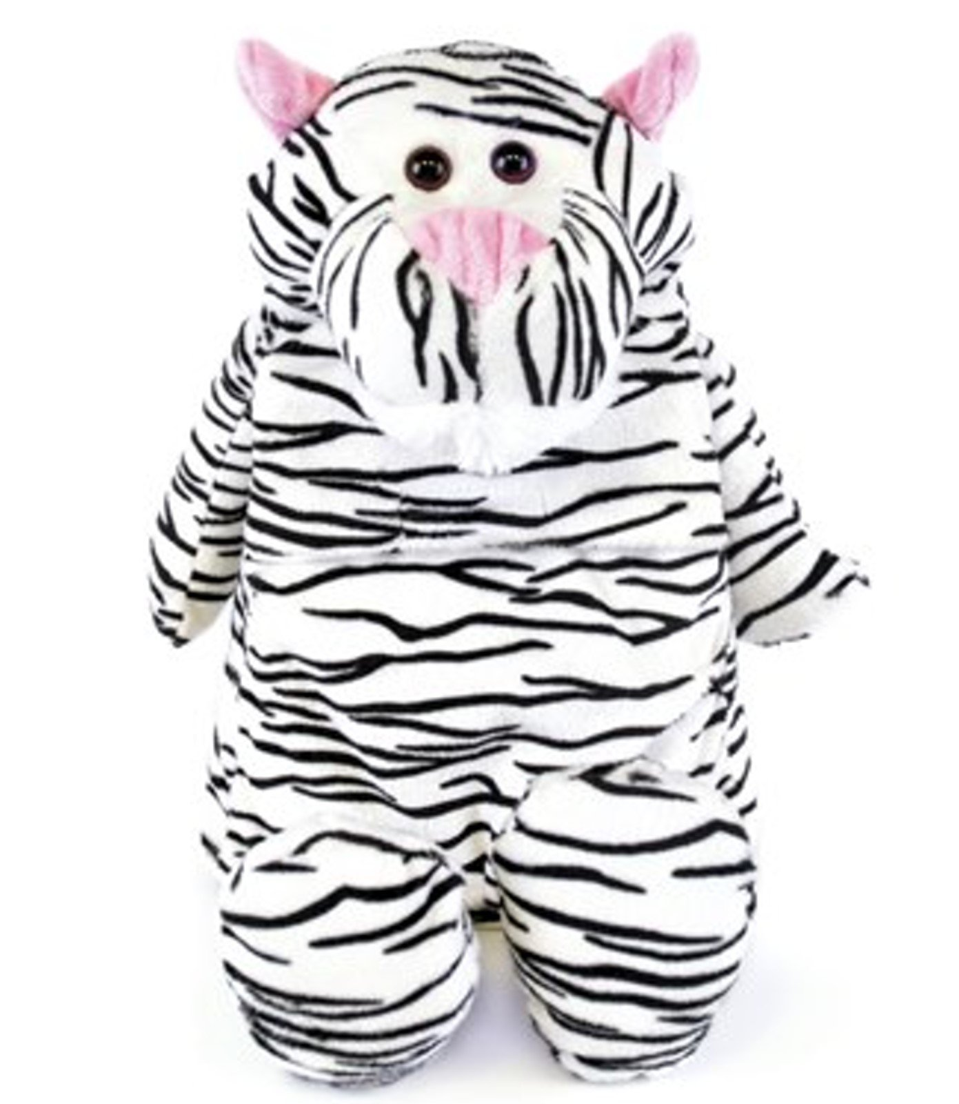 Cute Plush and Cuddly Animal Hot Water Bottles (White tiger) by Things2KeepUWarm