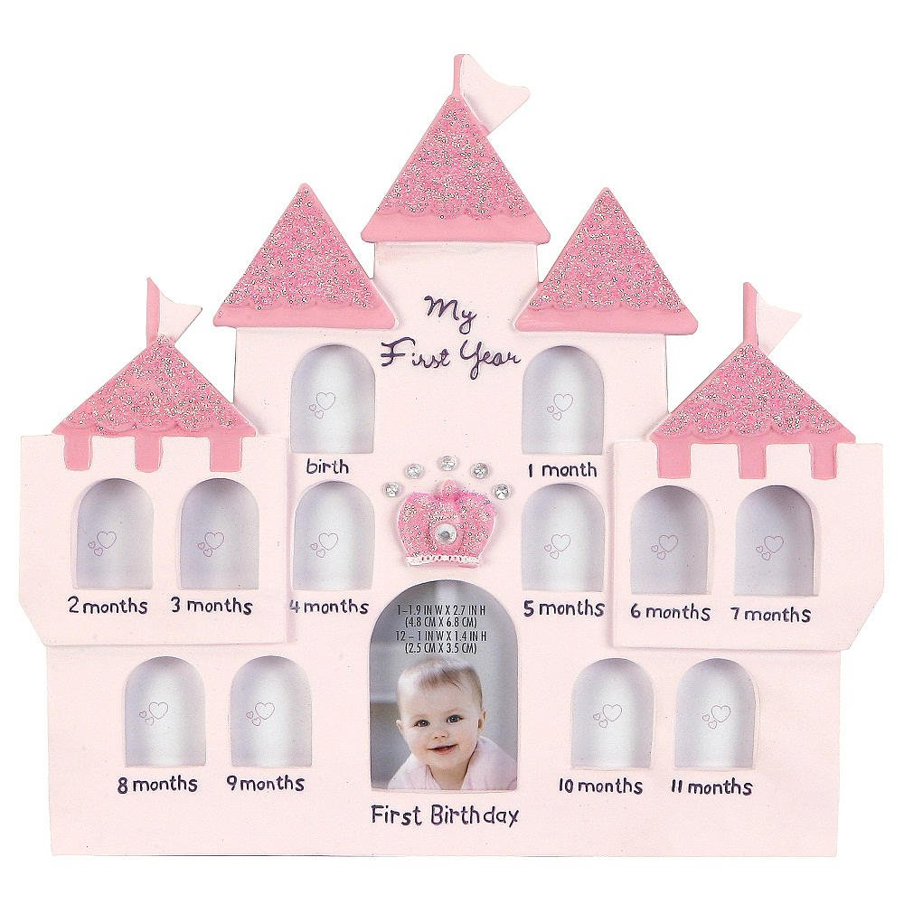 Amazon.com : C.R. Gibson Baby First Year Castle Frame, French \