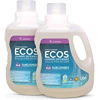 Deals on 2-PK Earth Friendly Products ECOS 2X Hypoallergenic Liquid 100oz