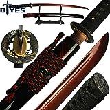 Amazon.com: DTYES espada japonesa Samurai Katana, espada ...