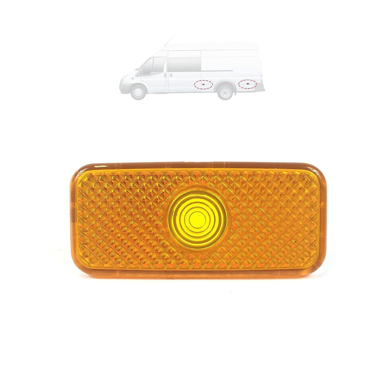 Color : Red Pack Of 10 VGEBY 24V Bus Side Lights Marker Lights Outline Trailer Indicator Lamp Red//Amber Light