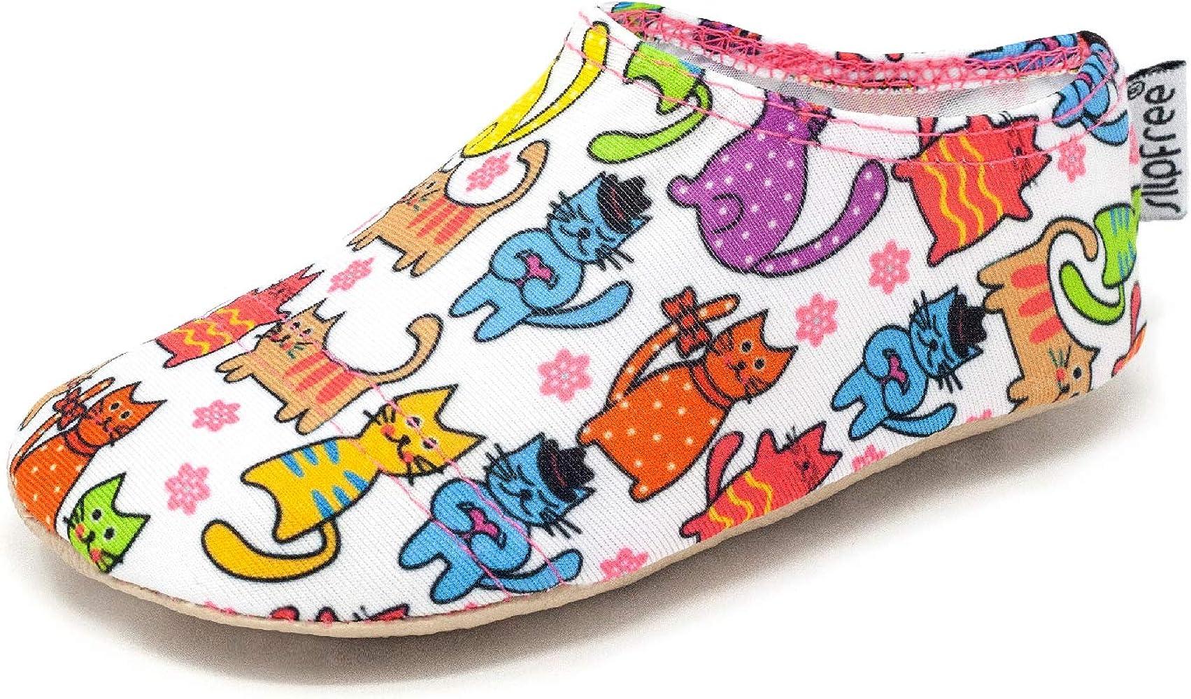 Funny Cats Patuco Antideslizante para Piscina Playa Hogar Slipstop