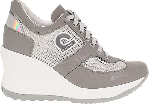Luxury Fashion | Ruco Line Mujer RUCO1800AG Gris Zapatillas ...