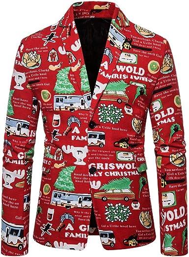 Cerlemi - Traje de festival para hombre, disfraz de Navidad ...