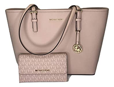 29f4cf78364c MICHAEL Michael Kors Jet Set Travel MD Carryall Tote bundled with Michael  Kors Jet Set Travel