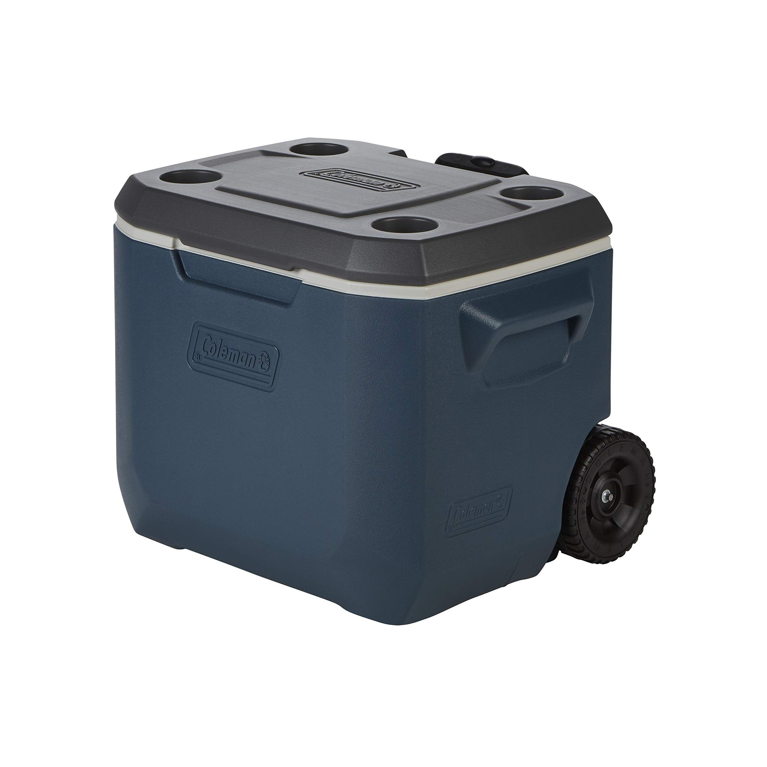 Coleman 50-Quart Xtreme 5-Day Heavy-Duty Cooler with Wheels, Slate by Coleman