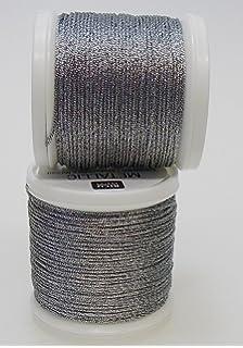 942 silber 40 Rico-Design Stickgarn Metallic Nr Fb