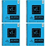 Canson XL Mixed Media Spiral Sketch Pad - 60 Sheets - 4 Pack (9 x 12)