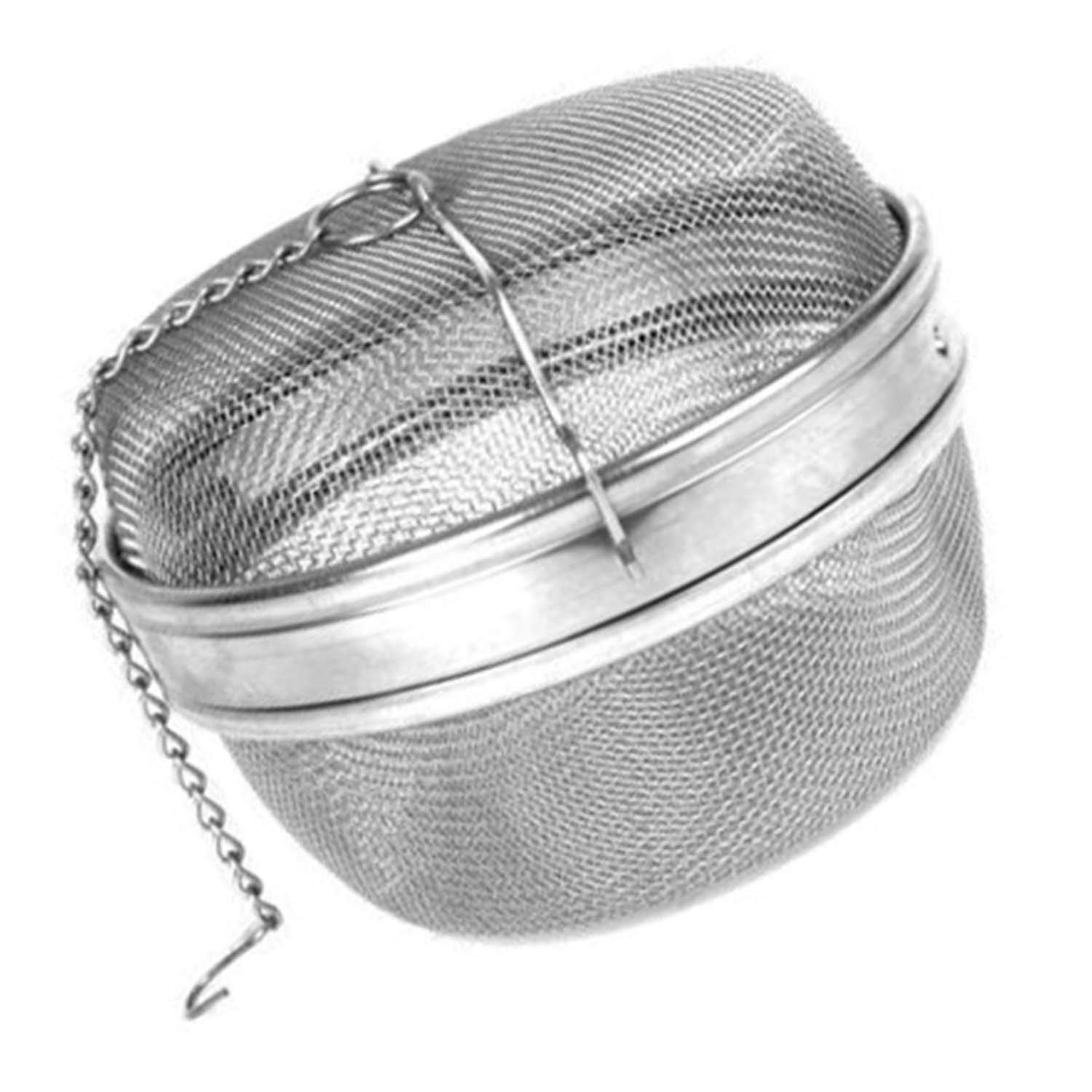 Spice Ball Herb Infuser Extra Large 4.5''D, Stainless Steel