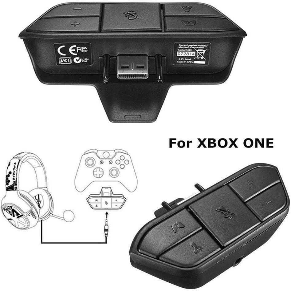 BaconiXfF Gamepad - Adaptador de auriculares estéreo para Microsoft Xbox Audio Games (8 x 5 x 2,1 cm): Amazon.es: Informática