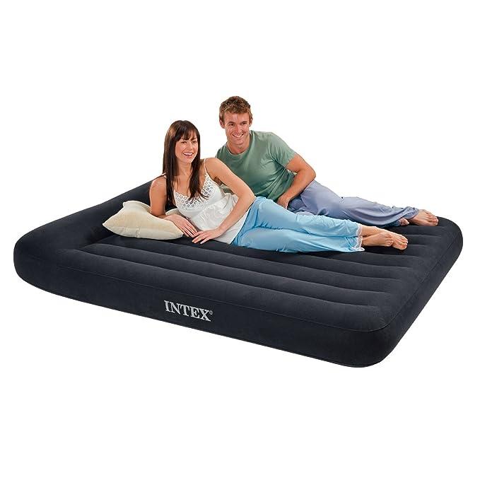 Amazon.com: Intex - Almohada de apoyo clásica con almohada ...