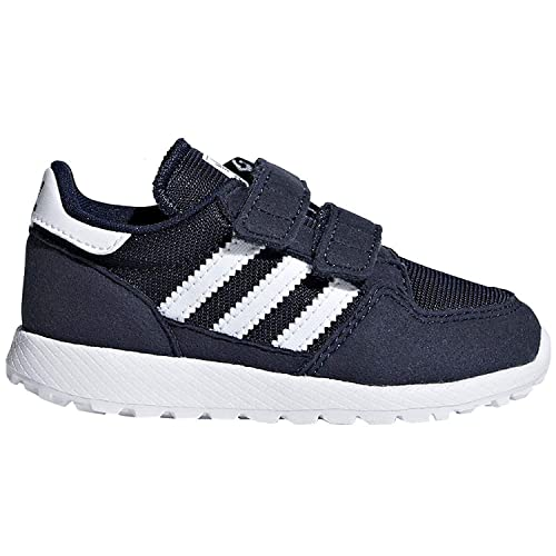 low priced 731a1 b286b adidas Originals Baby Forest Grove Cf I Running Shoe, Collegiate  NavyWhiteWhite