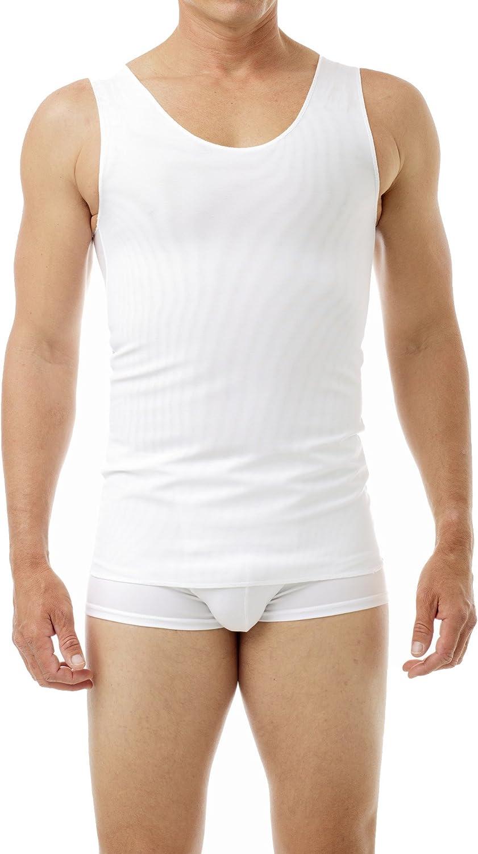 Underworks moderne Brustumfang Bandage gegen Fettleibigkeit Tanktop XL Wei/ß