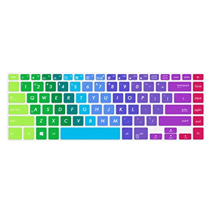 Ultra Thin Clear TPU Keyboard Cover for ASUS VivoBook F510UA   ASUS  VivoBook S510 14