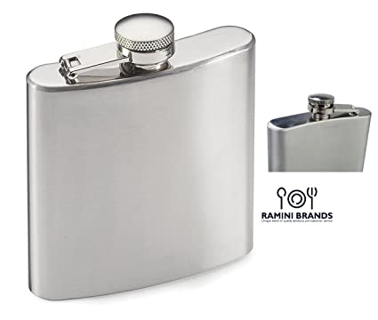 Overig Bike Hip Flask Drink Gift Liquor Whiskey Vodka 7oz Fathers Day Mens Bicycle Fun Huis