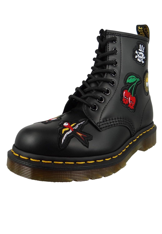 Noir Dr.Martens 1460 Patch noir DM24436001   FR damskie damskie High-Tops (noir)  produit de qualité