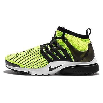 Amazon.com  Nike Air Presto Ultra Flyknit 835570-701 Volt White ... ebe0201972