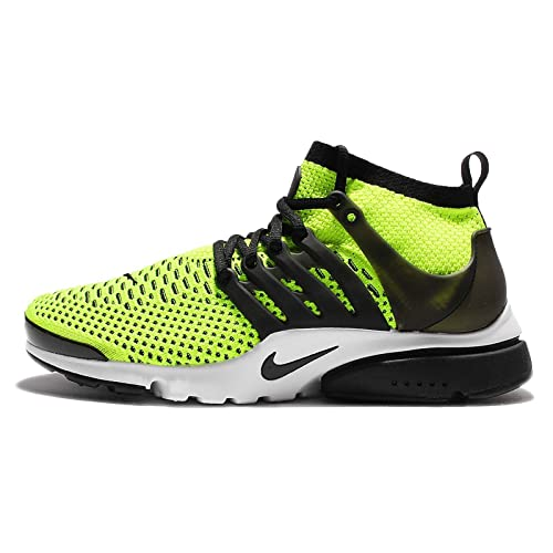 online store f13fc 08357 Nike Air Presto Ultra Flyknit 835570-701 Volt White Black Men s Running  Shoes
