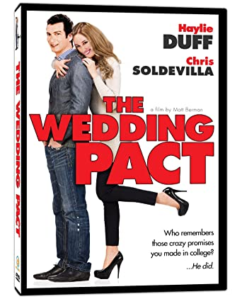 The Wedding Pact.Amazon Com The Wedding Pact Haylie Duff Chris Soldevilla Leslie