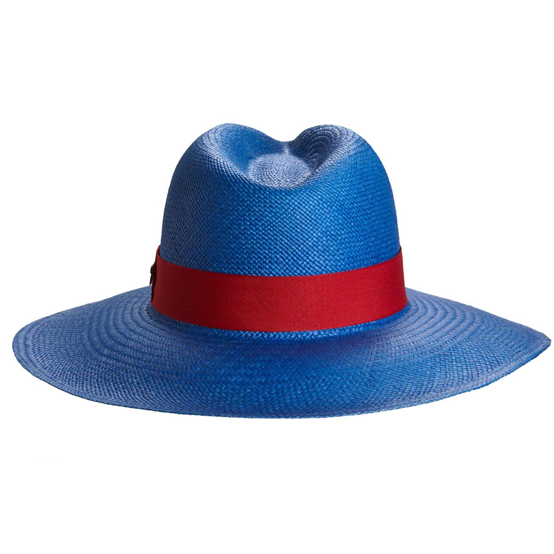 RACEU ATELIER Eva Wide Brim Panamá Baby Blue - Wide Brim Panamá - Panama  Hats - Handmade - Montecristi - Traveller - Straw - Fedora - Summer - Beach  - Sun  ... bbc5c40d3bd2