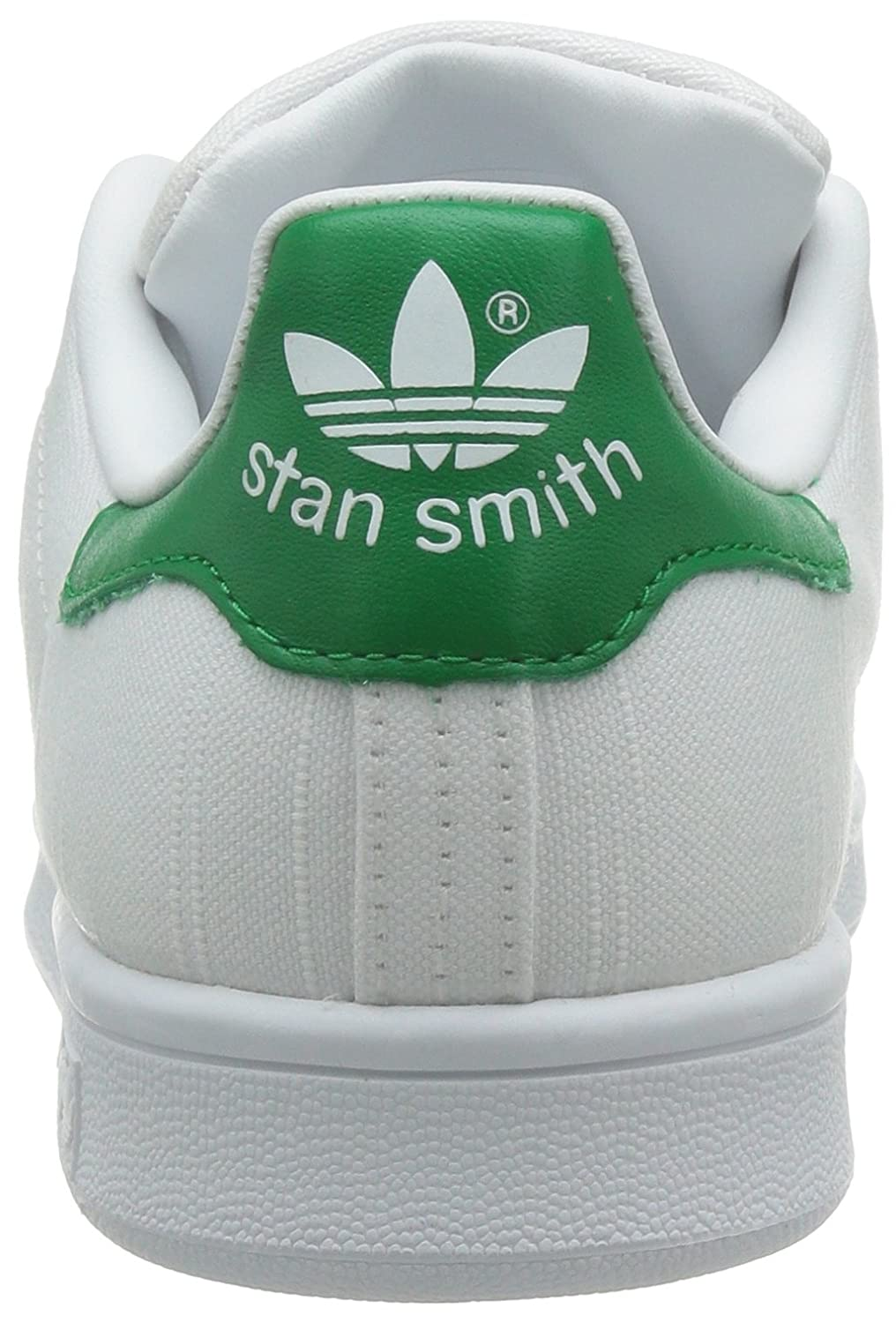 Amazon.com | adidas Originals Stan Smith W White/Green Textile Trainers |  Fashion Sneakers