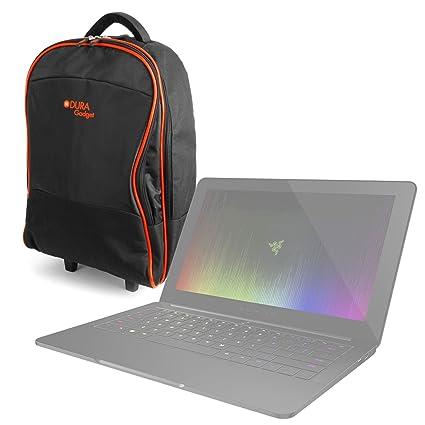DURAGADGET Maleta de Ruedas para Viajar para Portátil HP 250 G4 / ProBook 455 G3 /