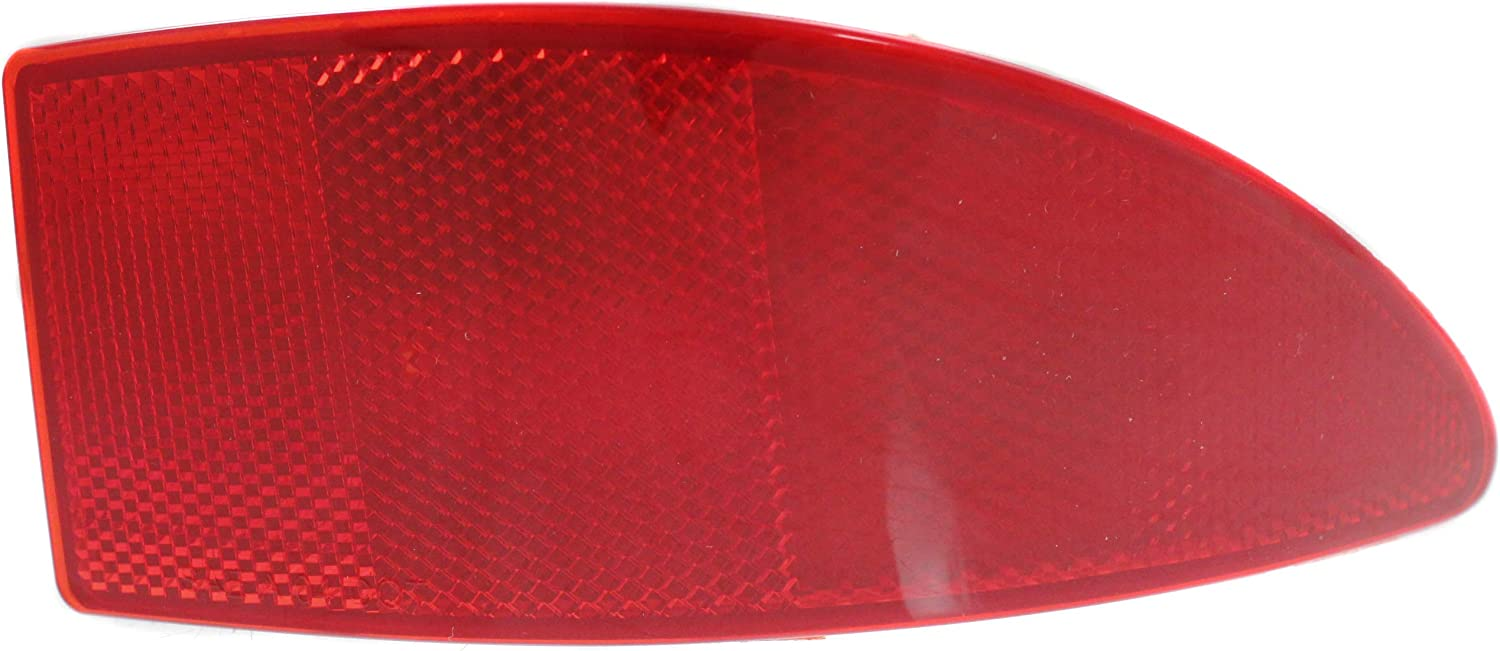 Aftermarket Rear Bumper Reflector Compatible with 2006-2013 Lexus IS250 and IS350 CAPA Passenger Side
