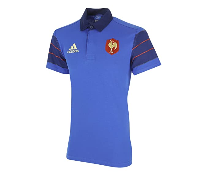 Maillot France Rugby FFR Sup JSY Bleu S88855. Taille FR=XS