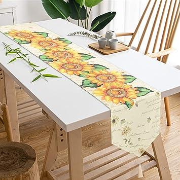 Amazon.com: Pitufos Yingda Dahlia Pinnata Camino de mesa con ...
