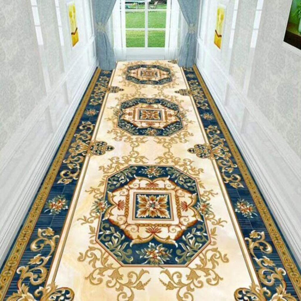 Color : A, Size : 0.88m Mbd Entrance Channel Carpet Long Corridor Runner Dust Cover Area Carpet Modern Foyer Kitchen Narrow Entrance Pad